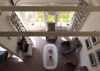 Kamer vanaf de vide bekeken